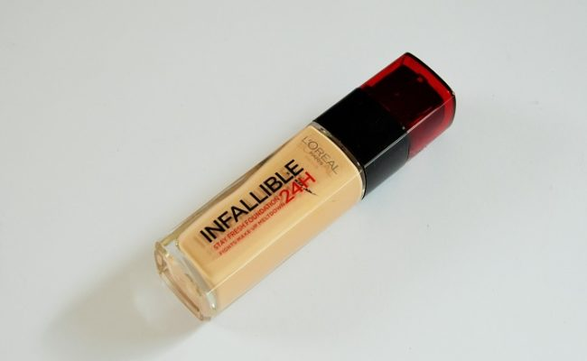 loreal-infallible-stay-fresh-24h-foundation-review-365-beauty-tips