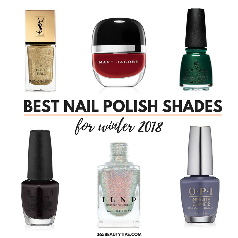 The Best Nail Polish Shades For Winter 2018 365beautytips