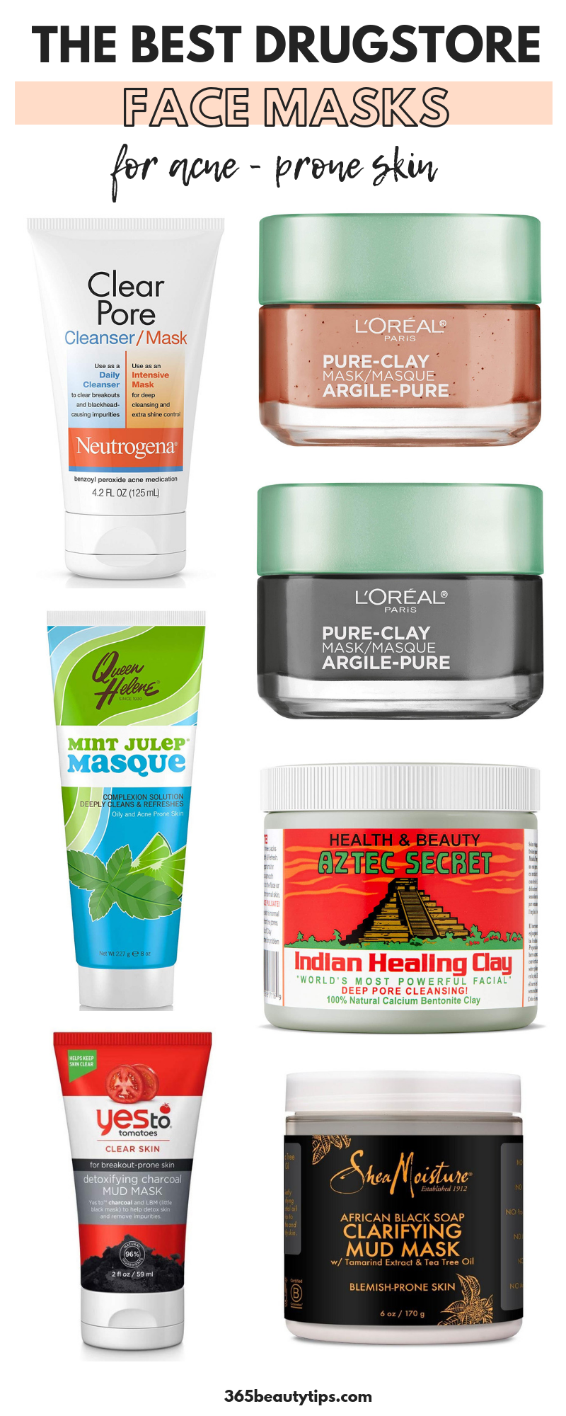 Best Drugstore Masks for Acne - Prone Skin - 365BeautyTips