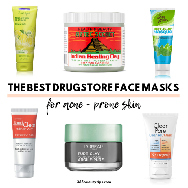 Best Drugstore Masks For Acne Prone Skin 365beautytips